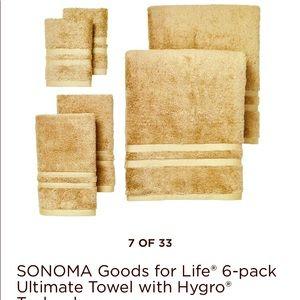 Sonoma goods for life 6-pc towel set